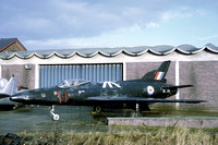 RAF Supermarine Swift F.7 XF114 at the Flint Technical College (1969)