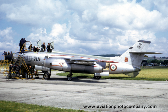 French Air Force EC2/30 Sud Vautour 2N 306/30-MA (1972)