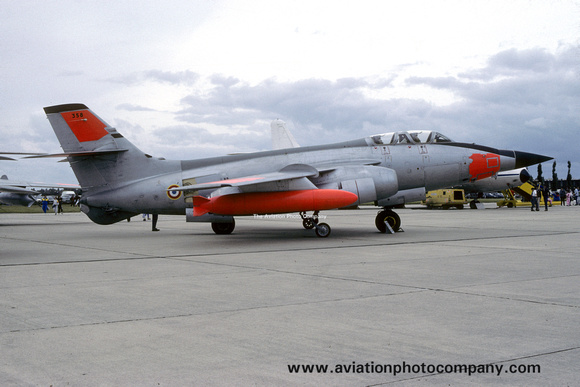 French Air Force CEV Sud Vautour 2N 358 (1986)