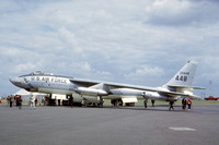 USAF 3920 SW Boeing B-47E Stratojet 52-0448 at RAF Wethersfield Airshow (1964)