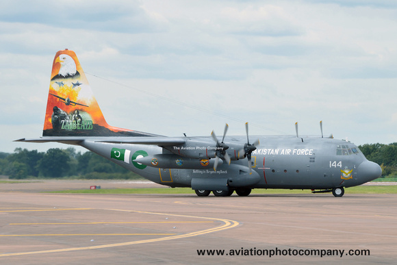 Pakistani Air Force Lockheed C-130E Hercules 4144 at RIAT Fairford (2016)