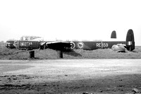 RAF Signals Command Avro Lincoln B.2 RE359 at Stansted