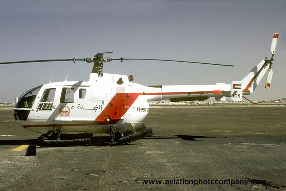 UAE Air Force MBB Bo105 106 (1987)