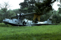 US Coast Guard Consolidated PBY-5A Catalina derelict at Elizabeth City (1975)