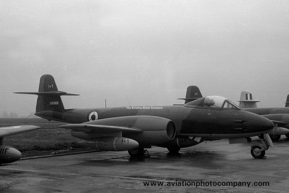 Syrian Air Force Gloster Meteor F.8 109 (1953)