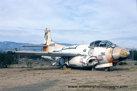 US Navy Douglas TF-10B Skyknight 124629 at the Pima County Museum (1975)
