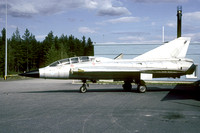 Finnish Air Force SAAB J-35CS Draken DK-270 at Tikkakoski (2005)