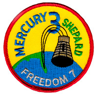 Mercury 3 Mission Patch - Alan Shepard 'Freedom 7'