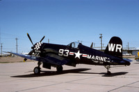 Vought F4U-7 Corsair NX33693 (1975)