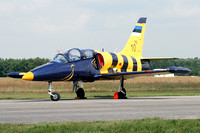 Estonian Air Force Aero L-39C 10 at the Volkel Airshow (2013)