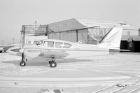 Vickers Piper PA-27 Aztec G-ASJP at Newcastle (1963)
