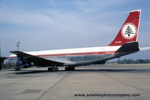 Middle East Airlines Boeing 707-300C OD-AGU (1983)
