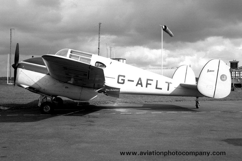The Aviation Photo Company: Miles Gemini &emdash; Flight Magazine Miles Gemini G-AFLT