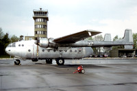French Air Force Nord Noratlas 66 at Wunstorf (1990)