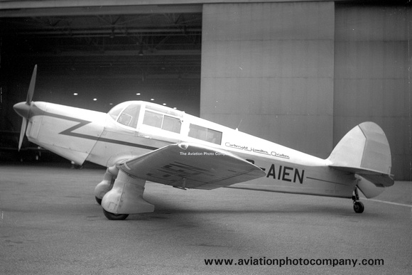Cartwright Hamilton Aviation Percival Proctor G-AIEN
