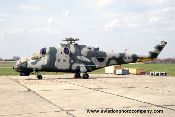 Sri Lankan Air Force Mil Mi-35P CH623 (2006)