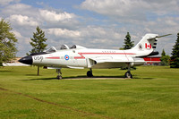 Canadian Air Force 416 Squadron McDonnell CF-101B Voodoo 101056 displayed at CFB Cold Lake (2005)