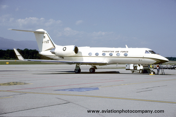 Pakistani Air Force Gulfstream IV J-755 (2006)