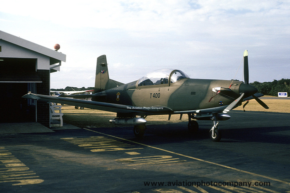 Bophuthatswana Defence Force Pilatus PC-7 T-400 (1990)