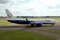 TUI Netherlands (leased from Blue Air) Boeing 737-85F YR-BMC (2016)