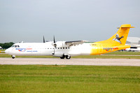Aurigny Air Services ATR-72-202 G-BWDA at Manchester (2006)