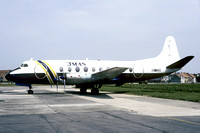 MMM Aero Services Vickers Viscount 9Q_CAH (1985)