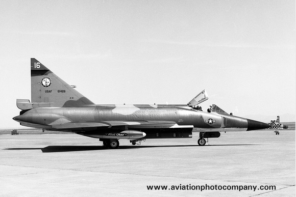 USAF Idaho Air National Guard 190th Fighter Interceptor Squadron Convair F-102A Delta Dagger 56-1426 (1975)