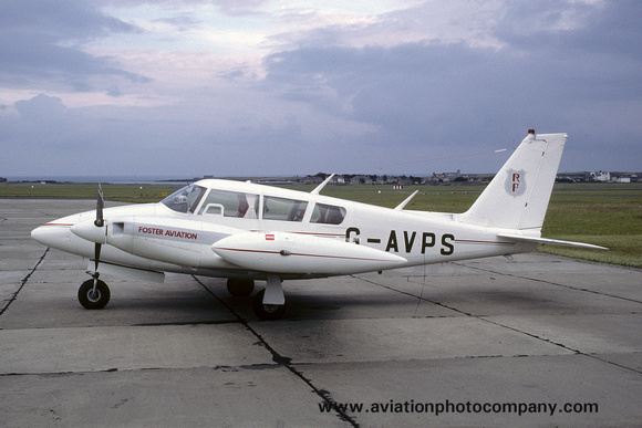 Foster Aviation Piper PA-30-160 Twin Comanche G-AVPS (1985)