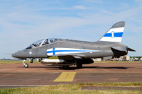 Finnish Air Force Midnight Hawks BAe Hawk 51 HW-341 at RIAT Fairford (2017)