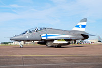Finnish Air Force Midnight Hawks BAe Hawk 51 HW-345 at RIAT Fairford (2017)