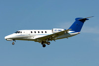 Tyrolean Jet Service Cessna 650 Citation VII OE-GMG at Zurich (2017)