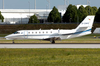 Aerowest GmbH Cessna 680 Citation Sovereign D-CAWS at Munich (2017)