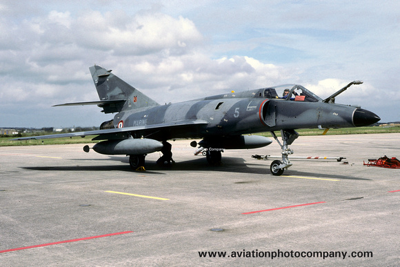 FRench Navy 11F Dassault Super Etendard 5 (1991)