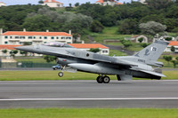 Pakistani Air Force 5 Squadron General Dynamics F-16C Fighting Falcon 10903 at Lajes (2016)