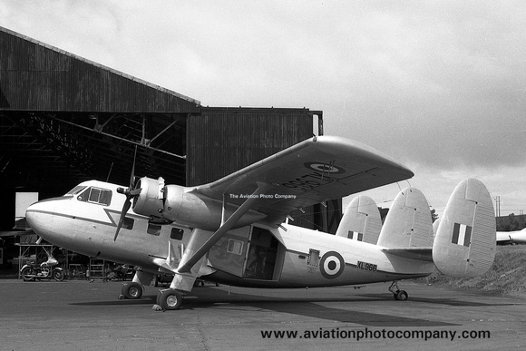RAF SAL Twin Pioneer CC.1 XL966 at Prestwick