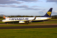 Ryanair Boeing 737-8AS EI-FOY at Manchester IAP (2017)