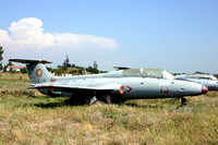 Romanian Air Force Aero L-29A Delfin 16 stored at Boboc (2006)