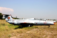Romanian Air Force Aero L-29A Delfin 49 stored at Boboc (2006)