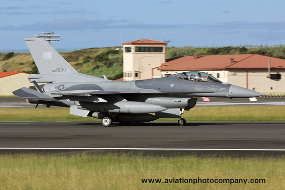 Iraqi Air Force General Dynamics F-16C Fighting Falcon IQAF1630 at Lajes (2017)