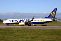 Ryanair Boeing 737-8AS EI-FOL at Manchester (2017)