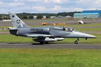 Draken International Aero L-159A Alca N262EM at Prestwick (2017)