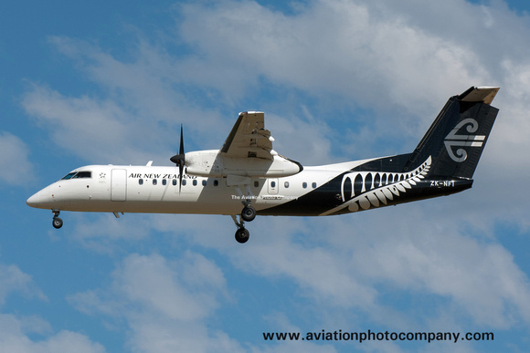 Air New Zealand Link/Air Nelson DHC-8-300 ZK-NFI at Christchurch (2017)