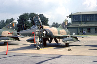 Belgian Air Force 42 Sml Dassault Mirage 5BR BR-10 at the Tactical Air Meet RAF Wildenrath (1978)