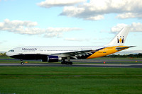 Monarch Airlines Airbus A300-600R G-MONS at Manchester (2006)
