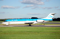 KLM Cityhopper Fokker F-100 PH-OFI at Manchester (2006)