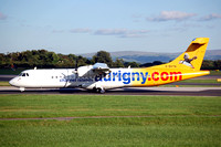 Aurigny Air Services ATR-72-202 G-BXTN at Manchester (2006)