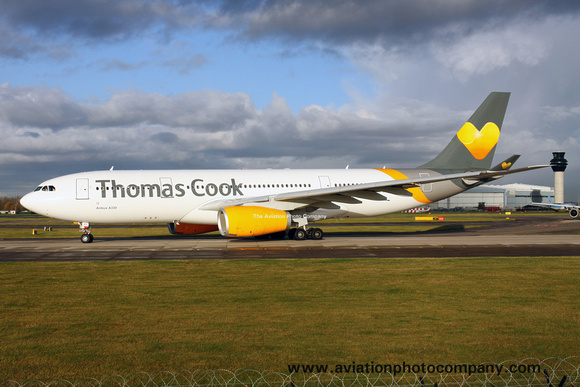 Thomas Cook Airlines Airbus A330-200 G-OMYT at Manchester (2017)