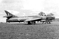 RAF Hawker Hunter F.2 WN892 at RAF Kemble (1960)