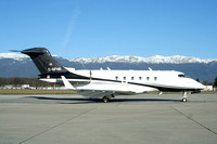 FHR Real Estate Corporation Bombardier Challenger 300 C-GFHR at Geneva (2007)