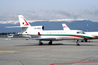 Moroccan Government Dassault Falcon 50 CN-ANO at Geneva (2007)